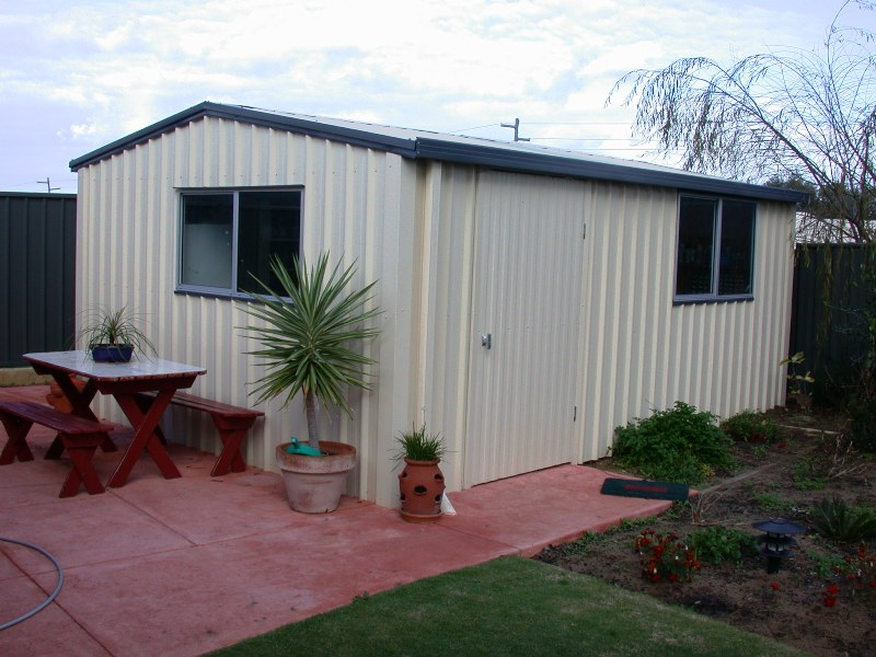Garden Sheds - Trojan Patios and sheds